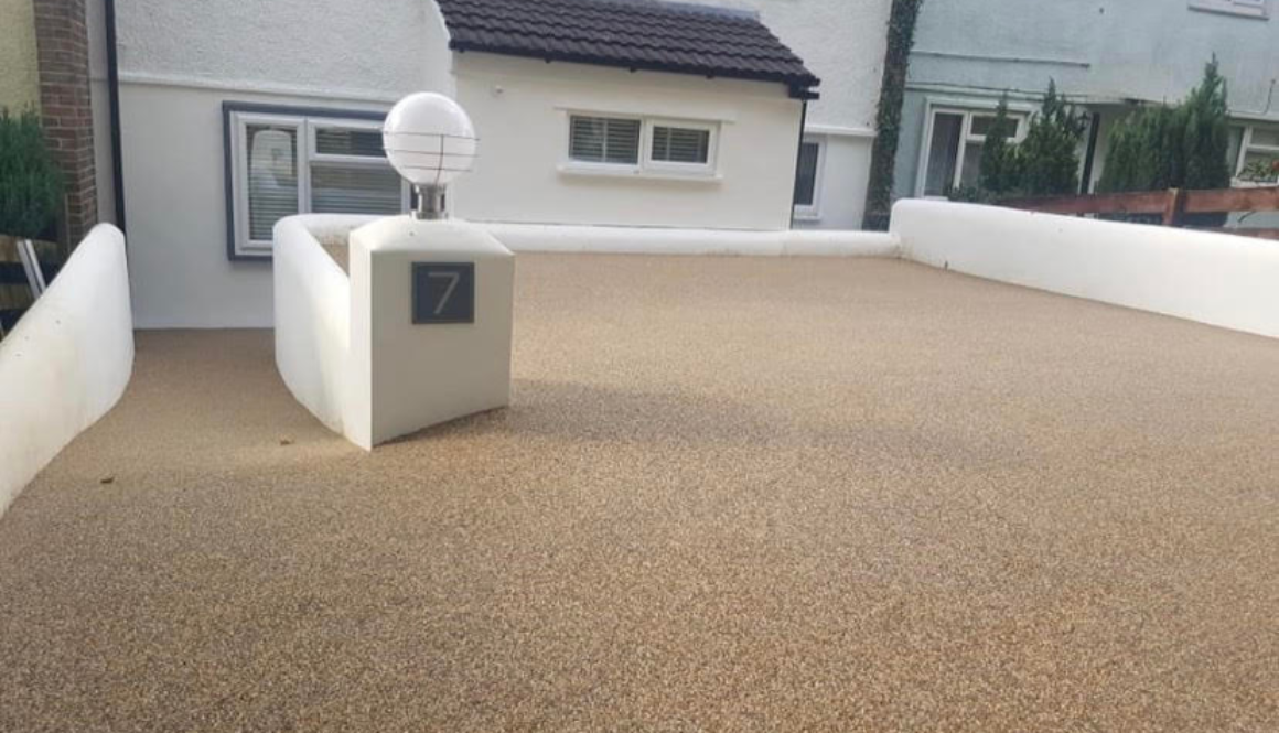 resin driveway in leicester